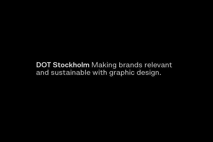 Dot Stockholm design agency